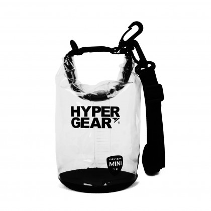 HYPERGEAR DRY BAG CLEAR TYPE 2 LITRE