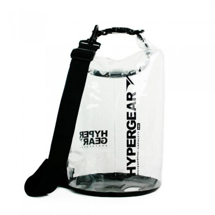 HYPERGEAR DRY BAG CLEAR TYPE 10 LITRE