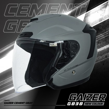 Gracshaw Gaizer Helmet Solid Color - Flat Simen Grey