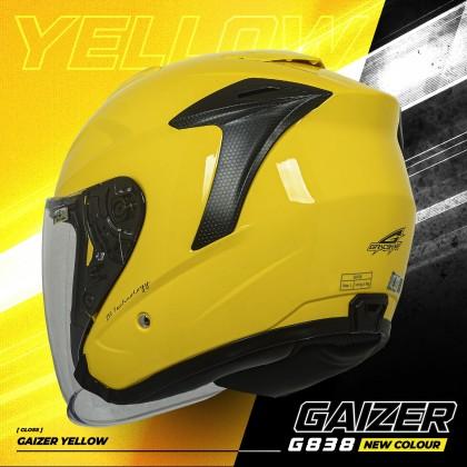 Gracshaw Gaizer Helmet Solid Color - Yellow