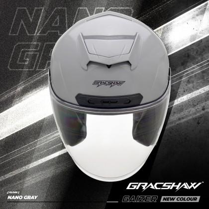 Gracshaw Gaizer Helmet Solid Color - Nano Grey