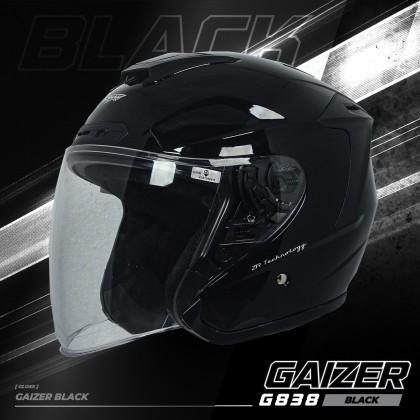 Gracshaw Gaizer Helmet Solid Color - Gloss Black