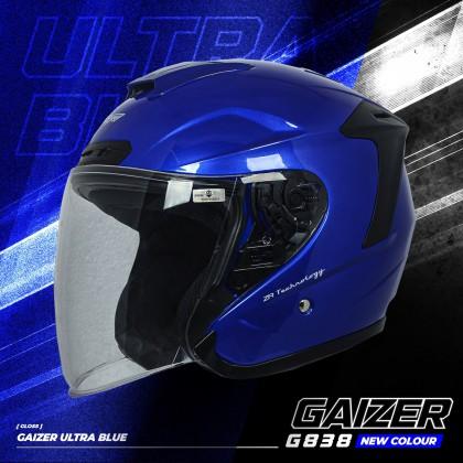 Gracshaw Gaizer Helmet Solid Color - Gloss Blue