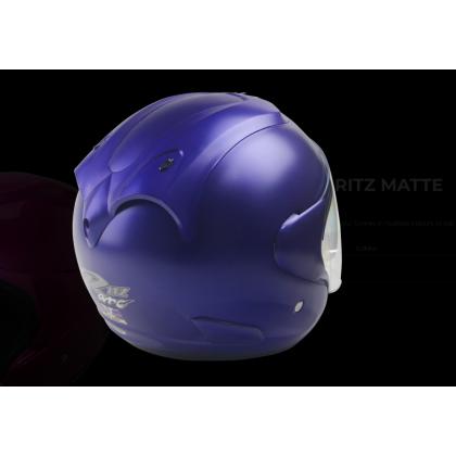 Arc helmet Ritz solid color gloss blue
